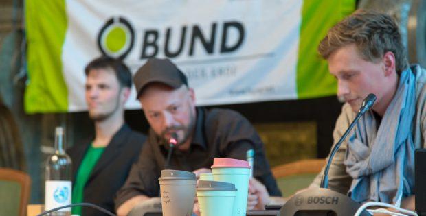 So sehen die Recycling2go-Kaffeebecher aus. Foto: BUND Regionalgruppe Leipzig