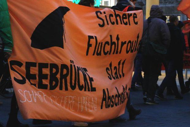 In den letzten Monaten wurden die Seenotretter kriminalisiert. Foto: L-IZ.de