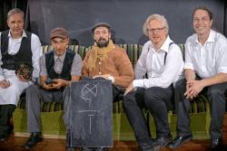 Armin Zarbock, Raschid D. Sidgi, August Geyler, Claudius Bruns, Frank Berger. Foto: Armin Zarbock