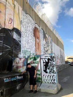 Auf der Suche nach Frieden - Bethlehem 2018. Foto: Cornelia Gazawi