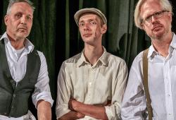 August Geyler, Armin Zarbock, Claudius Bruns. Foto: Robert Amarell