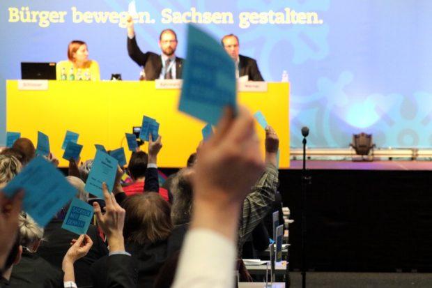 Bürger bewegen. Die FDP will wieder in den sächsischen Landtag. Foto: L-IZ.de