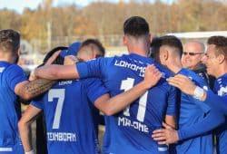 Lok zieht ins Pokal-Viertelfinale ein, wo es zum Derby mit der BSG Chemie kommt. Foto: Jan Kaefer (Archiv)