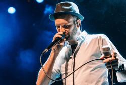 Beatboxer Daniel Barke. Foto: M. Fröhner