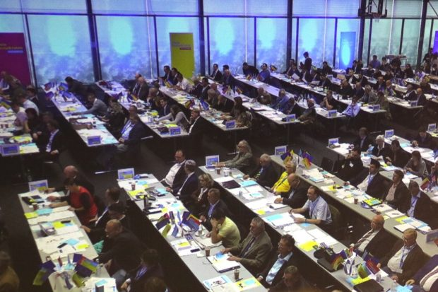 Delegierte der FDP in Neukieritzsch. Foto: L-IZ.de