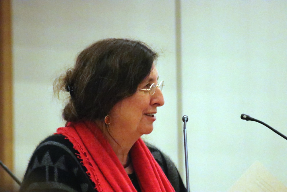 Baubürgermeisterin Dorothee Dubrau (parteilos) zum Verwaltungshandeln in der Georg-Schwarz-Straße. Foto: L-IZ.de