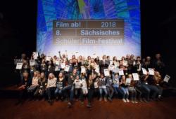 Film ab 2018 Preisträger. Quelle: Film ab! Schülerfilm-Festival Sachsen
