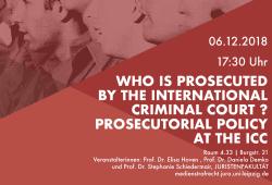 Flyer. Quelle: Lehrstuhl für Strafrecht