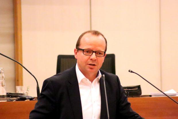 René Hobusch (Freibeuter) zum Luftreinhalteplan. Foto: L-IZ.de