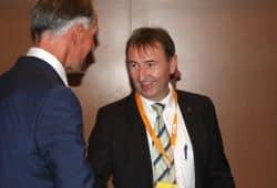 Für den Landtagsabgeordneten Holger Gasse (CDU) könnte es 2019 richtig eng werden. (Hier mit Bundestagsmitglied Jens Lehmann 2017. Foto: L-IZ.de