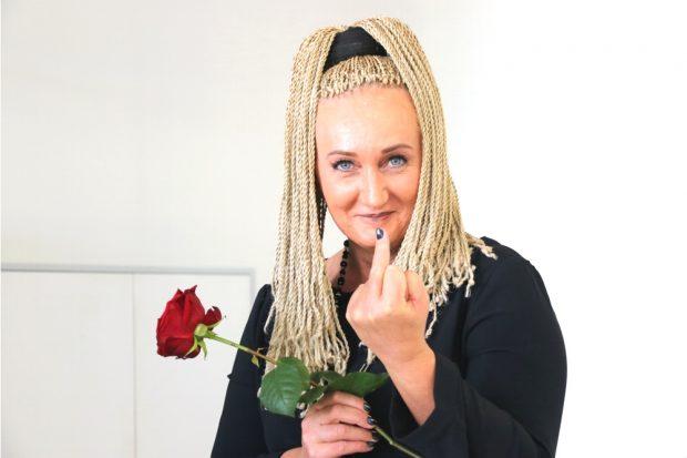Es ist Wahlzeit. Irena Rudolph-Kokot (SPD) macht den Steinbrück und eine Kampfansage im Leipziger Westen. Foto: L-IZ.de