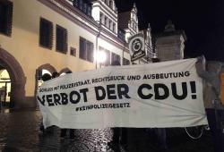 Kundgebung Leipzig. Quelle: Privat