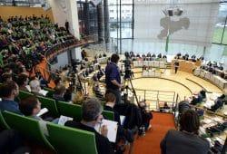 Im Landtag Sachsens. Foto: Sächsischer Landtag / Steffen Giersch