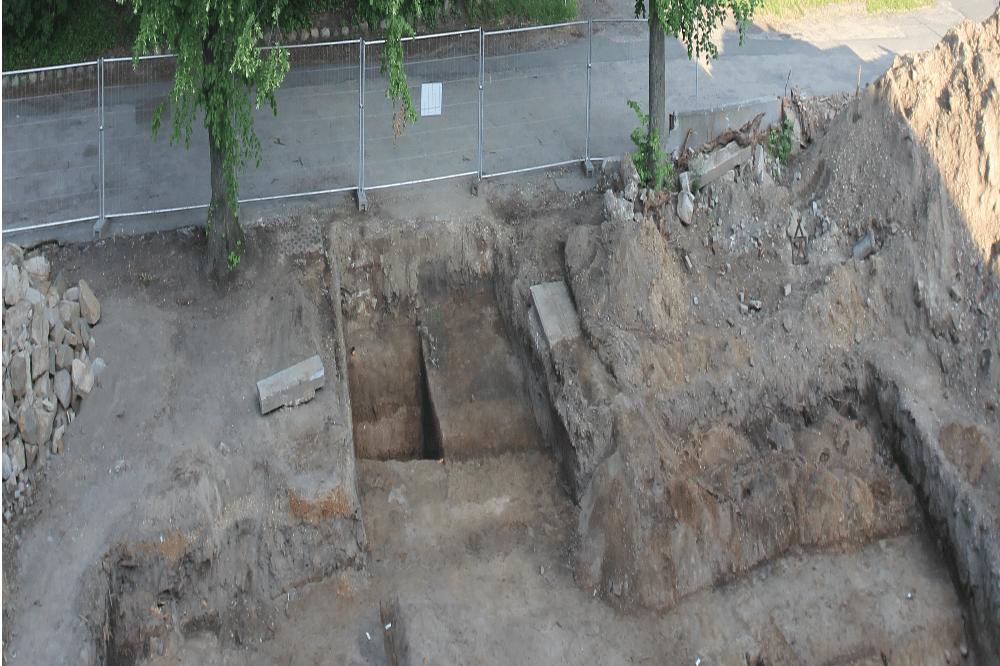 Wahren - Grabungsfoto. Foto: LA Archäologie Sachsens