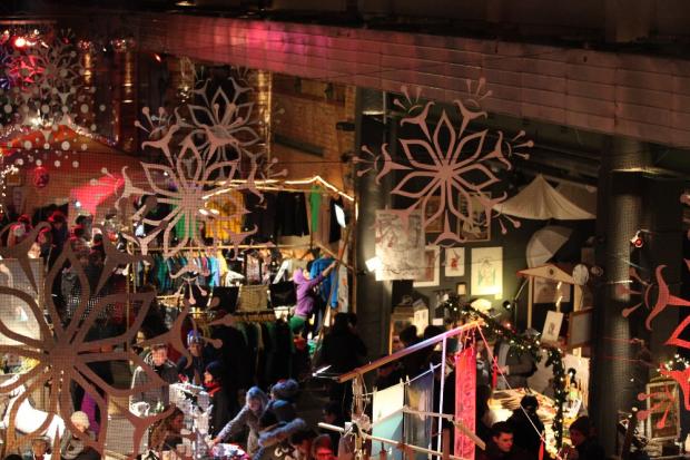 Weihnachtsmarkt, Quelle: WERK 2 - Kulturfabrik Leipzig e.V.