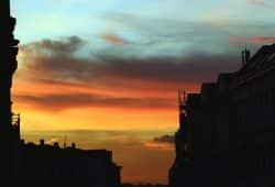 Dämmerung über der Stadt. Foto: L-IZ.de