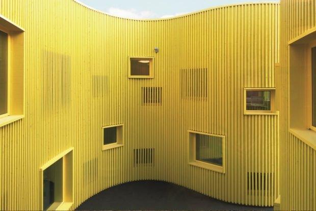 Tellus, Kindertagesstätte, Telefonplan, Stockholm. (Architekt: Tham&Videgard, Foto: Åke E:son Lindman)