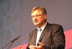 FDP Landesvorsitzender Holger Zastrow am 3. November 2018 in Neukieritzsch. Foto: Michael Freitag