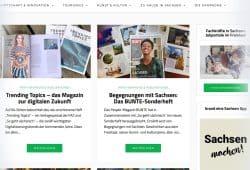 """""""So geht sächsisch""""-Kampagnen im Print. Screenshot: L-IZ"""