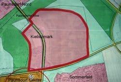 Das Baufeld in Paunsdorf. Skizze: SPD-Fraktion Leipzig