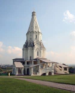 Die Christi-Himmelsfahrtkirche von Moskau-Kolomenskoje. Foto: Museum Kolomenskoje