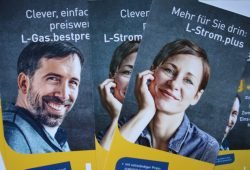Die neue Tarif-Kampagne der Stadtwerke. Foto: Ralf Julke