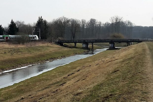 Die alte - viel zu enge - Brücke über die Nahle. Foto: Heiko Rudolf