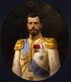 Porträt von Zar Nikolai II., 1898. Foto: Museum Kolomenskoje