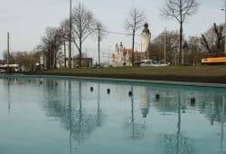 Kostbares Nass: Brunnen auf dem Rossplatz. Foto: Ralf Julke