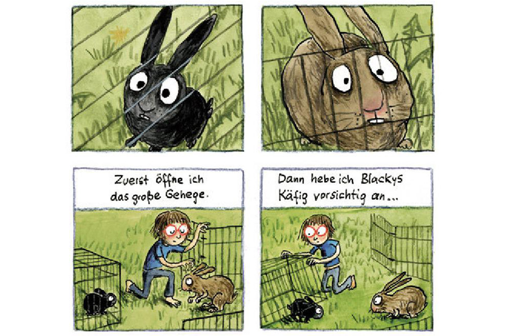 "Auszug aus ""Manno!"" von Anke Kuhl. Grafik: Anke Kuhl"