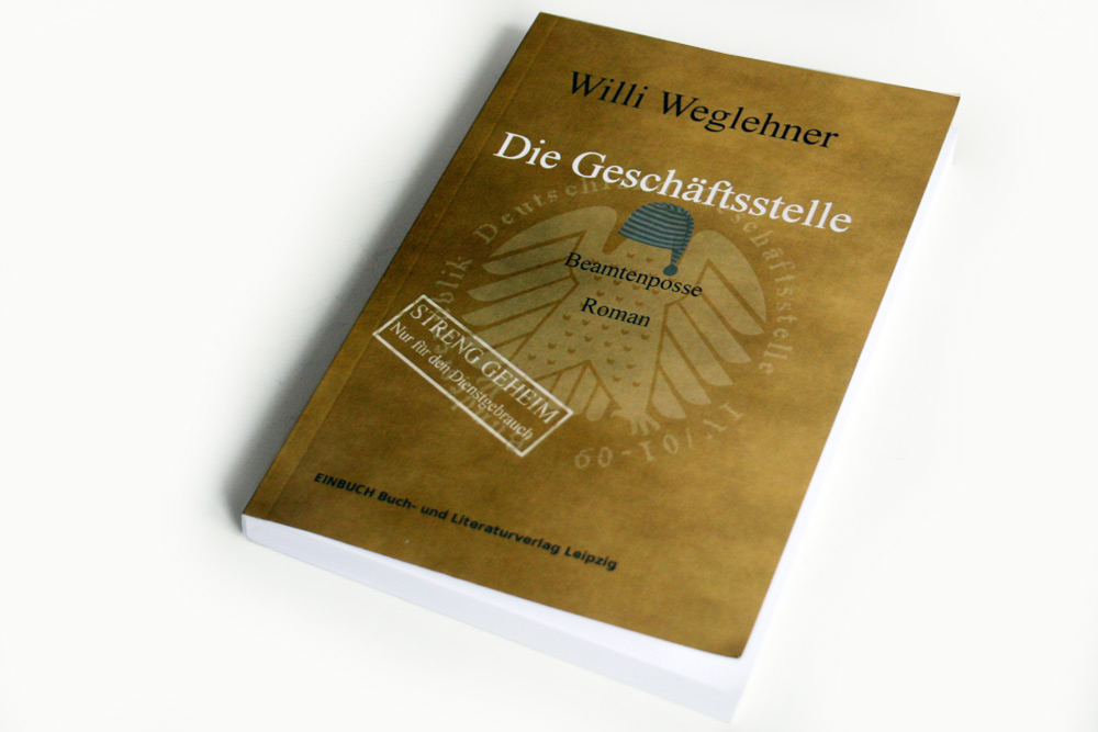 Willy Weglehner: Die Geschäftsstelle. Foto: Ralf Julke