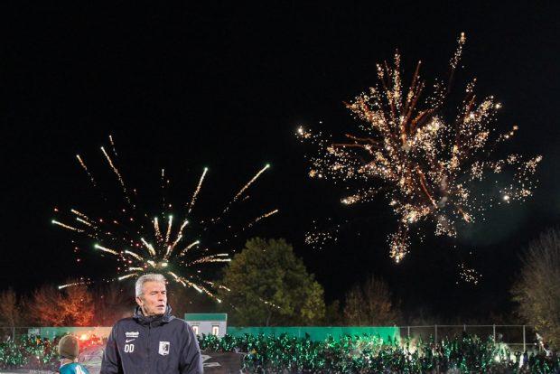Zuletzt brannte die BSG Chemie zumindest spielerisch kein Feuerwerk mehr ab. Foto: Jan Kaefer