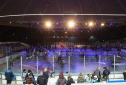 Der Kohlrabizirkus lädt wieder zum Eislaufen ein. Foto: Jan Kaefer