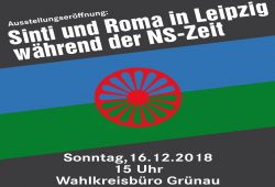 Ausstellungseröffnung Sinti und Roma. Quelle: Sören Pellmann, MdB