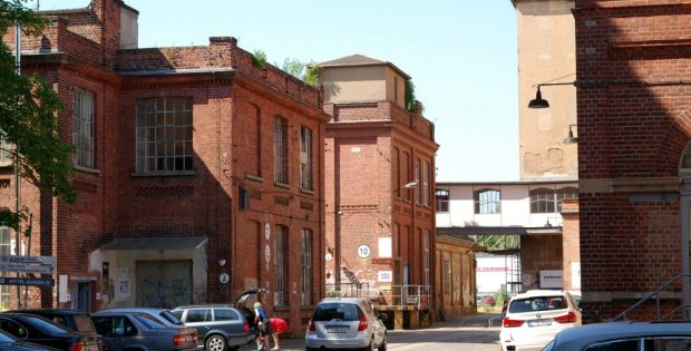 Die Alte Baumwollspinnerei in Leipzig Lindenau. Foto: L-IZ.de