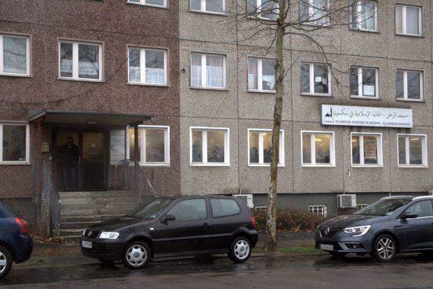 Die Gläubigen konnten ungestört beten. Foto: Alexander Böhm