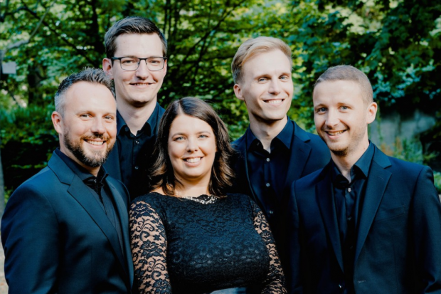 Calmus Ensemble (c) Marco Borggreve