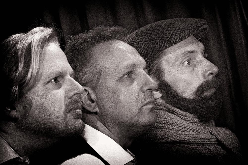 Claudius Bruns, Armin Zarbock, August Geyler. Foto: Armin Zarbock