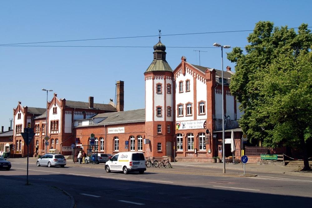 Der Plagwitzer Bahnhof. Foto: L-IZ.de