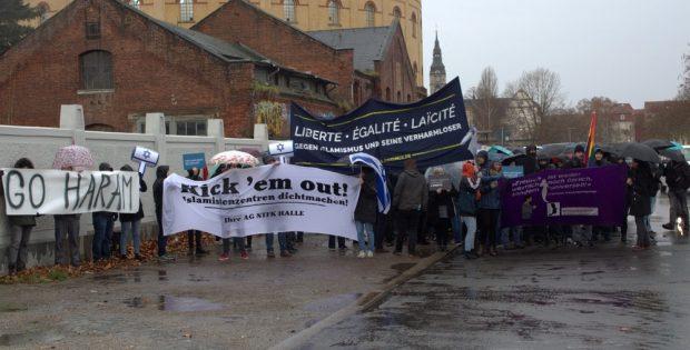 Freiheit, Gleichheit, Laizismus fordert die Initiative. Foto: Alexander Böhm