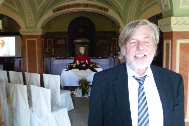 Hans-Günter Kröger, selbstständiger Bestatter und Trauerbegleiter in Leipzig. Foto: Privat