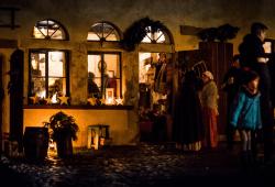Hof-Advent in Liebertwolkwitz. Foto: Frank Bauer