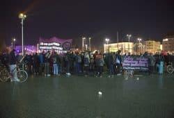 200 Leipziger kamen zusammen. Foto: Alexander Böhm
