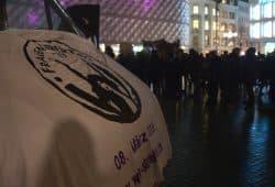 """""""Wir Streiken"""". Foto: Alexander Böhm"""