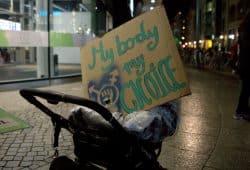 Mein Körper, meine Entscheidung. Foto: Alexander Böhm