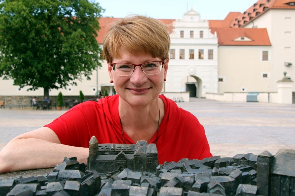 Jana Pinka aus Freiberg (MdL, Die Linke) im großen LZ-Interview zu den Folgen sächsischer Kohlepolitik. Foto: Wieland Josch
