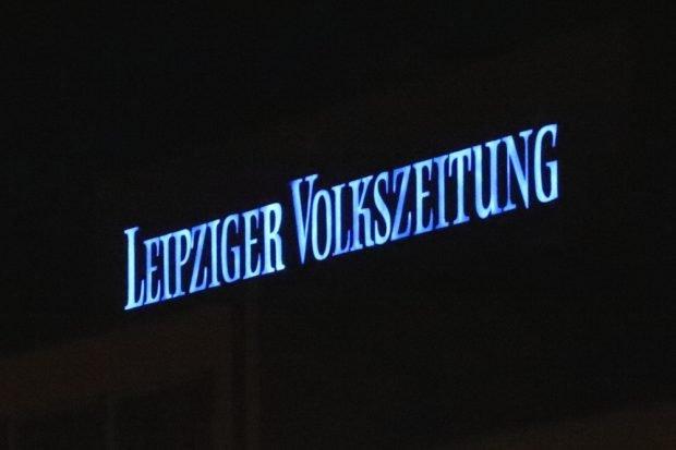 Die LVZ-Druckerei in Stahmeln. 2019 soll das Licht ausgehen. Foto: Michael Freitag