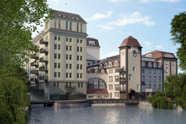 Visualisierung Muehlenwerke Stahmeln. Quelle: Instone Leipzig
