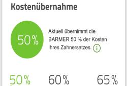 Zahnbonus-App. Quelle: BARMER Sachsen