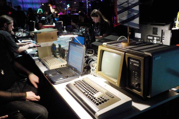 Computer-Memories - richtig zum Anfassen. Foto: Franziska Wohlgemut